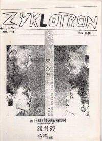 Zyklotron 1992/11, Jahrgang 10, Nr. 45