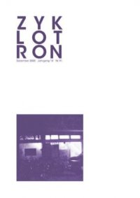 Zyklotron 2000/12, Jahrgang 18, Nr. 91
