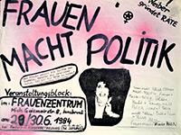 1984-06-29: Frauen macht Politik
