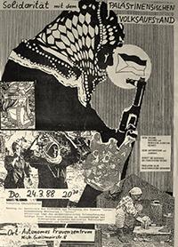1988-03-24: Solidarität mit dem palästinensischen Volksaufstand