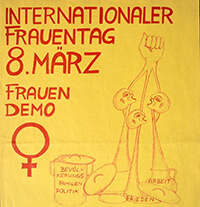 198?-03-08: Demo Internationaler Frauentag