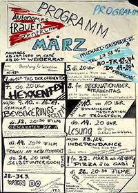 198?-08: Programm Autonomes Frauenzentrum