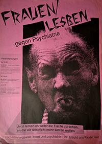 1990-10-24: Frauen/Lesben gegen Psychiatrie