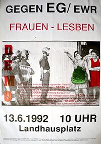 1992-06-13: Demo gegen EG/EWR