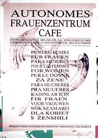 199x: Autonomes Frauenzentrum Cafe