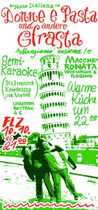2003-10-10: Donne e Pasta und andere Gfrasta
