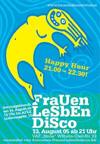 2005-08-13: FrauenLesbenDisco
