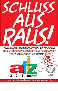2006-11-17: Schluss Aus Raus! Comicsversteigerung