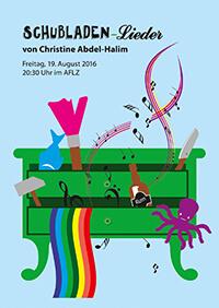 """2016-08-19: Christine Abdel-Halim """"Schubladenlieder"""""""